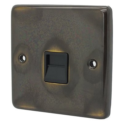 Timeless Aged Telephone Extension Socket