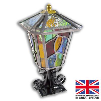 Ludlow Leaded Pedestal Light