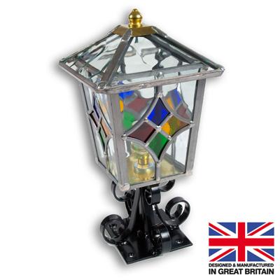 Tetbury Leaded Pedestal Light