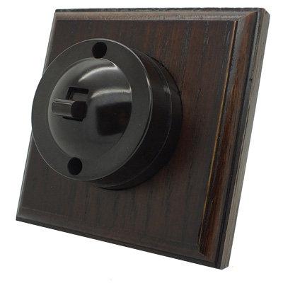 Vintage Bakelite | Dark Oak  Sockets & Switches