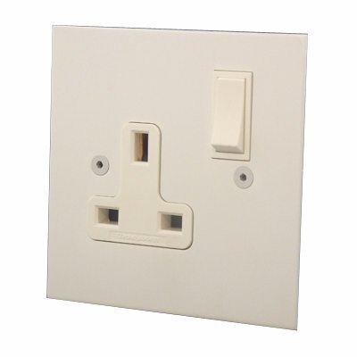 Elite Square Paintable  Sockets & Switches