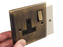 Large Light Switches & Plug Sockets