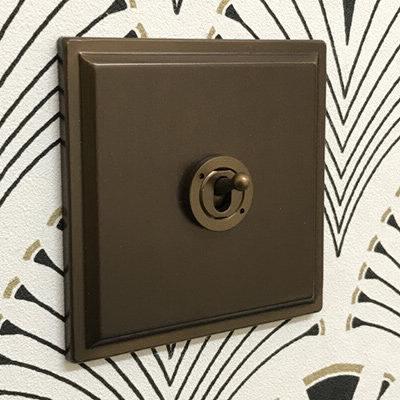 Art Deco Bronze Antique  Sockets & Switches
