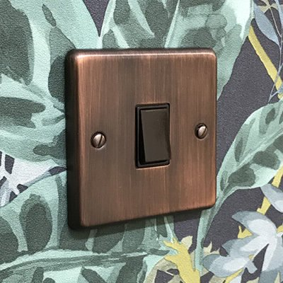 Classic Antique Copper  Sockets & Switches