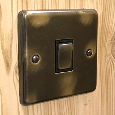 Classical Aged Aged  Sockets & Switches