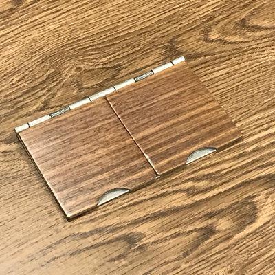 Floor Walnut / Satin Stainless  Sockets & Switches
