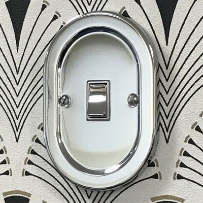 Regal Polished Chrome  Sockets & Switches