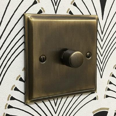 Regent Antique Brass  Sockets & Switches