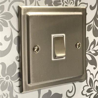 Victorian Satin Nickel  Sockets & Switches